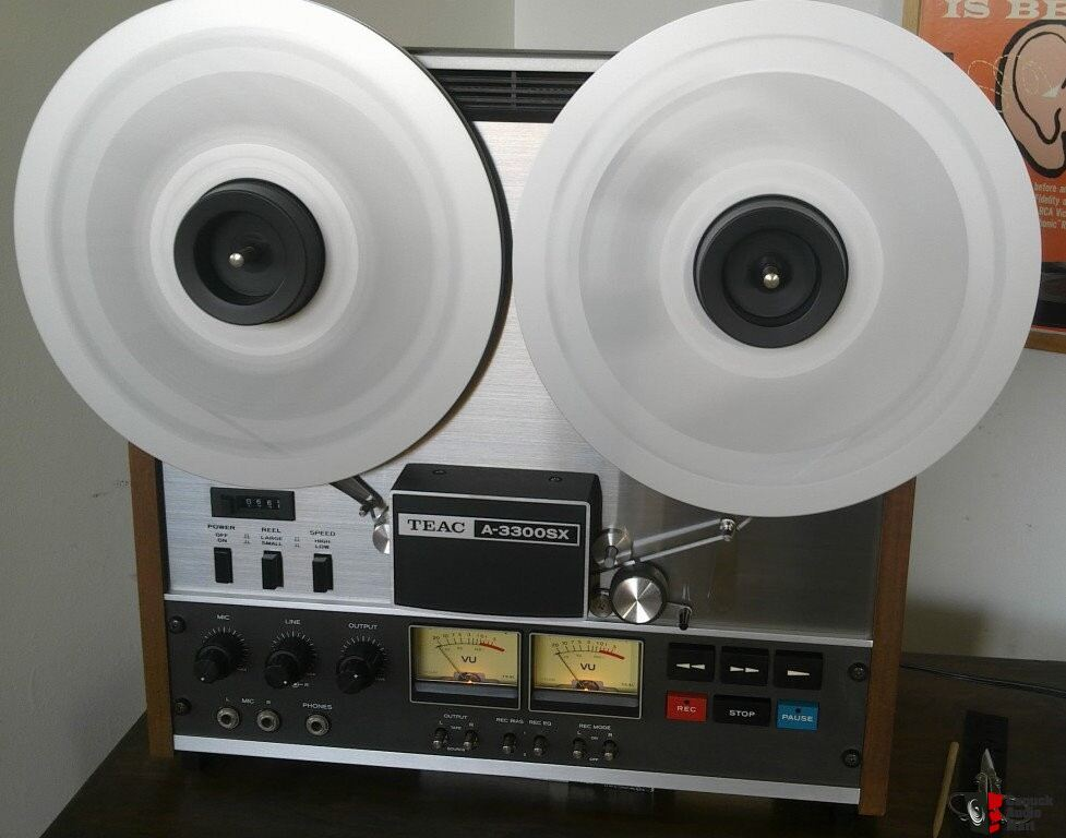 Teac A3300s 3 Heads 3 Motors Reel To Reel Tape Recorder