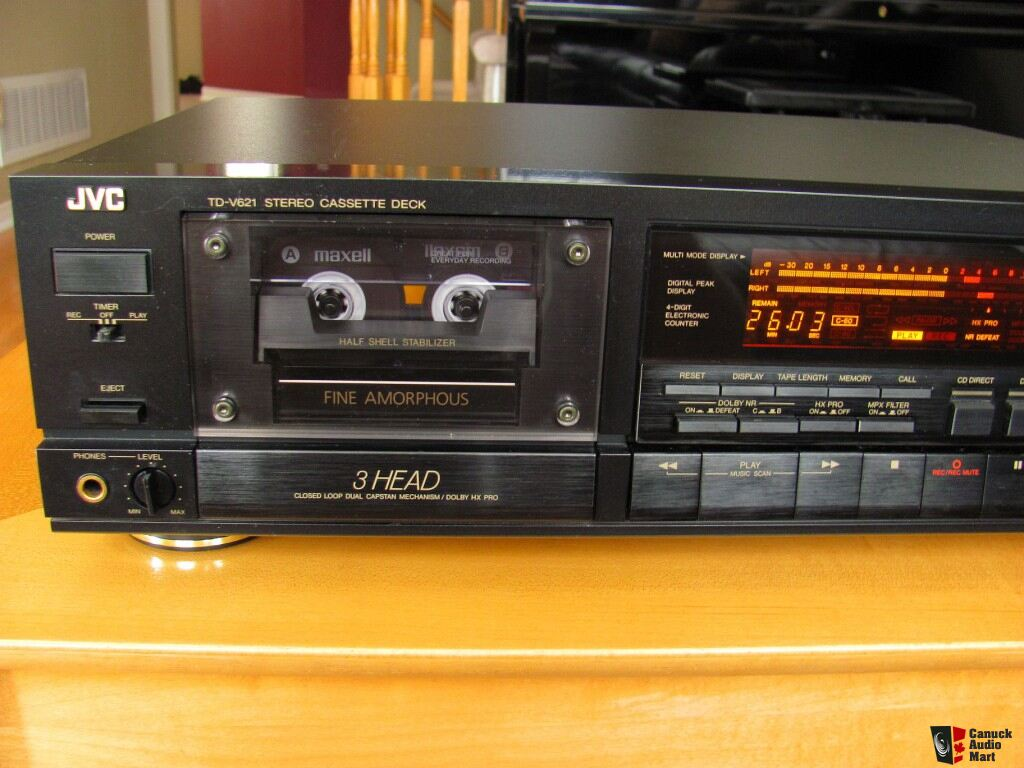 Jvc Td V621 3head Cassette Deck Photo 403628 Aussie