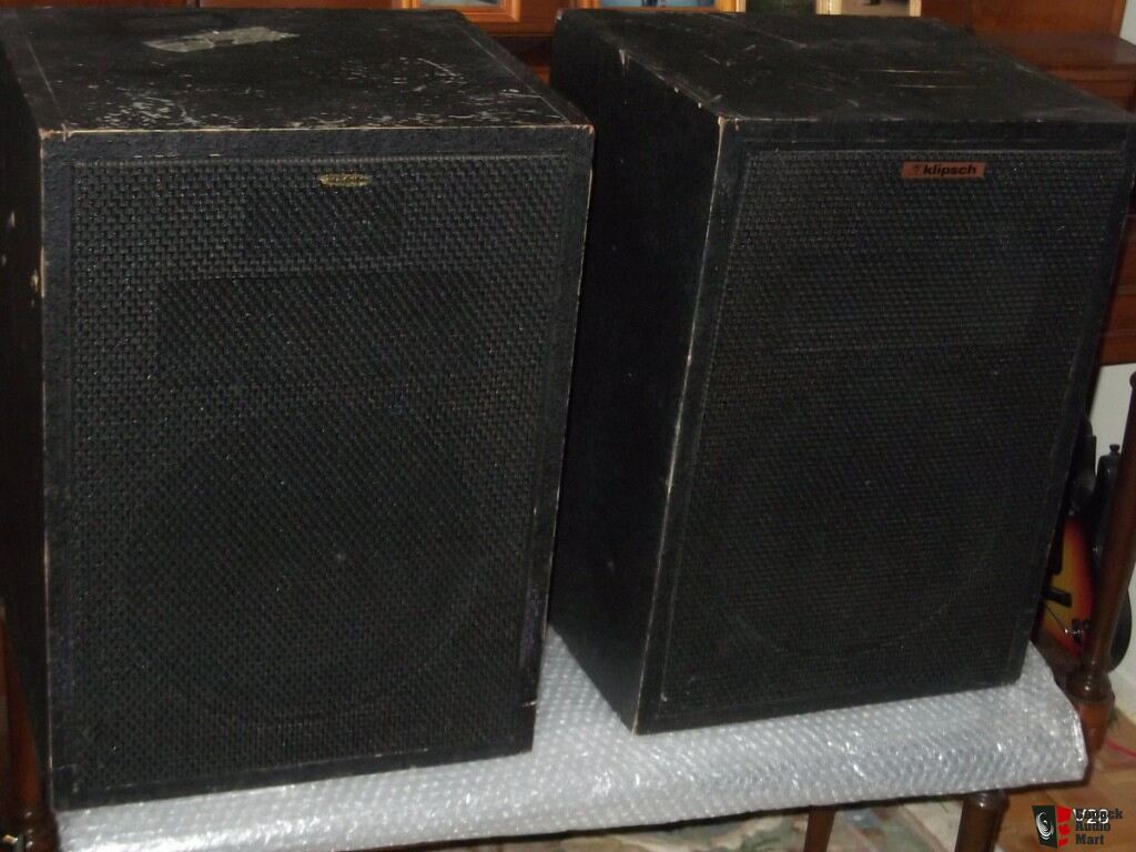Klipsch Heresy Speakers