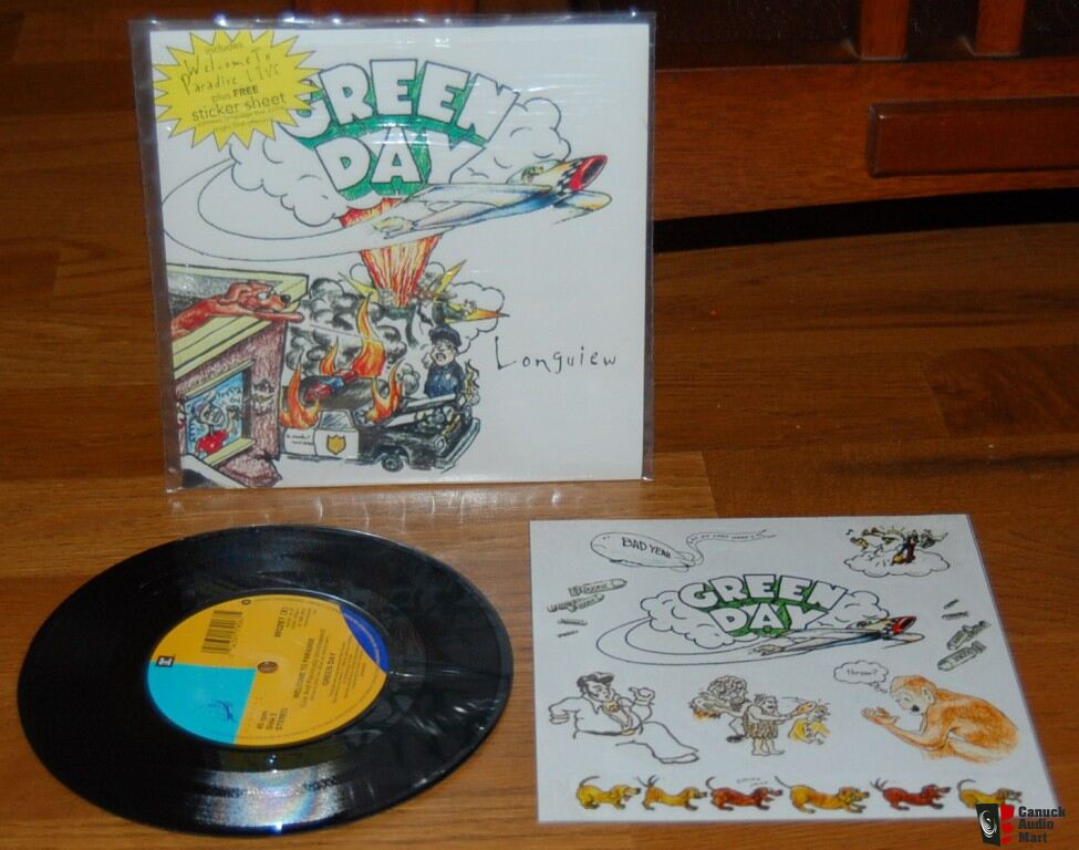 aaa19d09e325 90s INDIE ROCK (GREEN DAY ... OFFSPRING) COLOURED WAX SINGLES ...