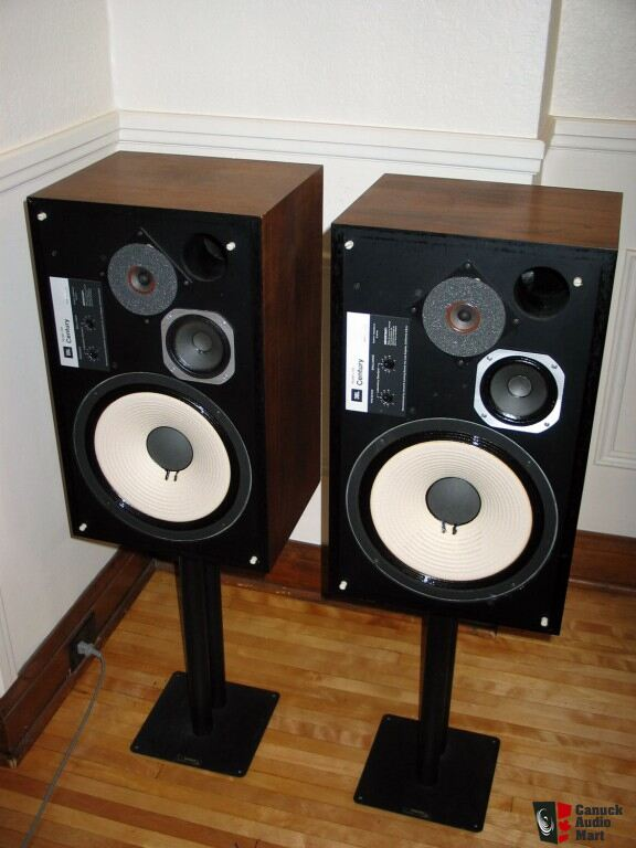 Jbl L Century Speakers on Jbl Amps Amplifier