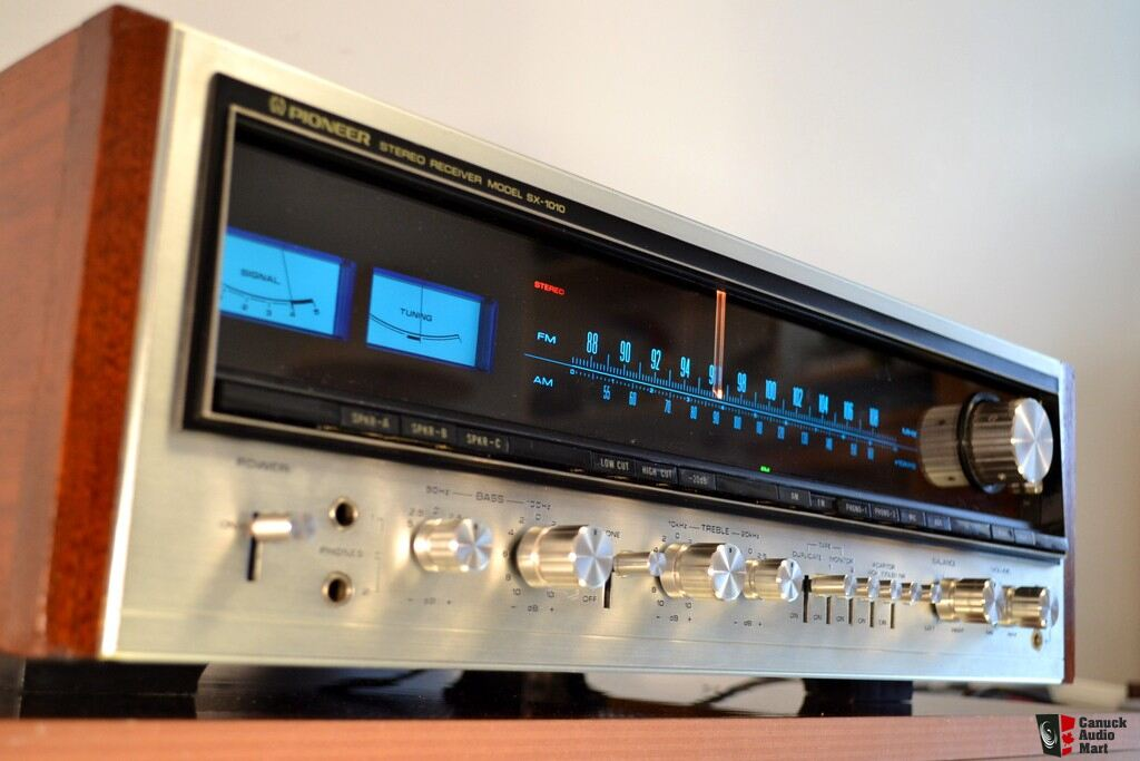 PIONEER SX-1010 * SUPERB 50 LBS MONSTER RECEIVER