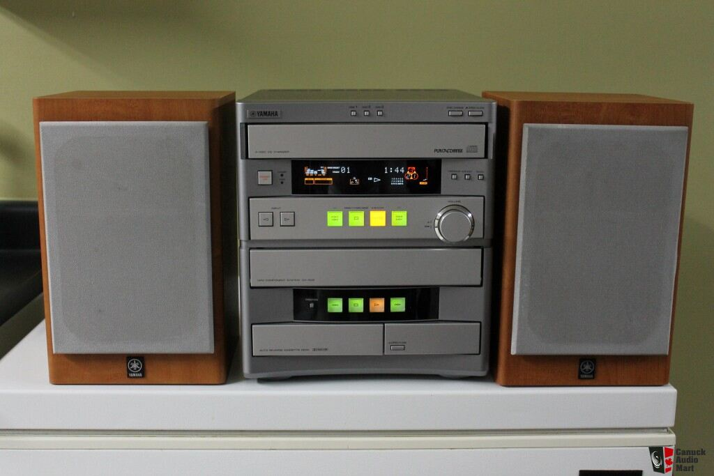 Yamaha gx 505 compact stereo system photo 455538 canuck for Yamaha stereo systems
