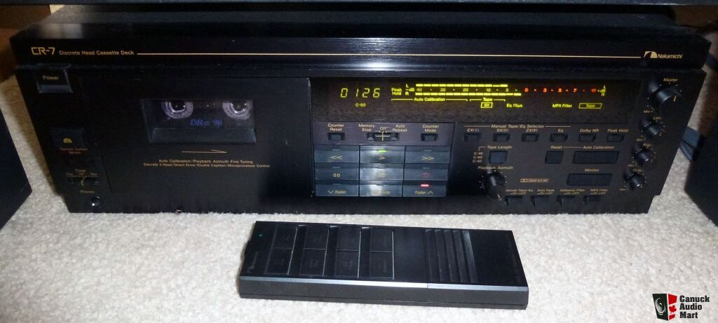 Nakamichi Cr 7 Amp 680 Cassette Decks Teac A 3340 Reel To