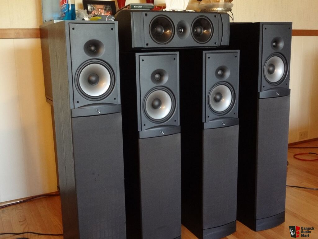 Infinity rs 8 infinity rs 8 reference speakers with built in subs