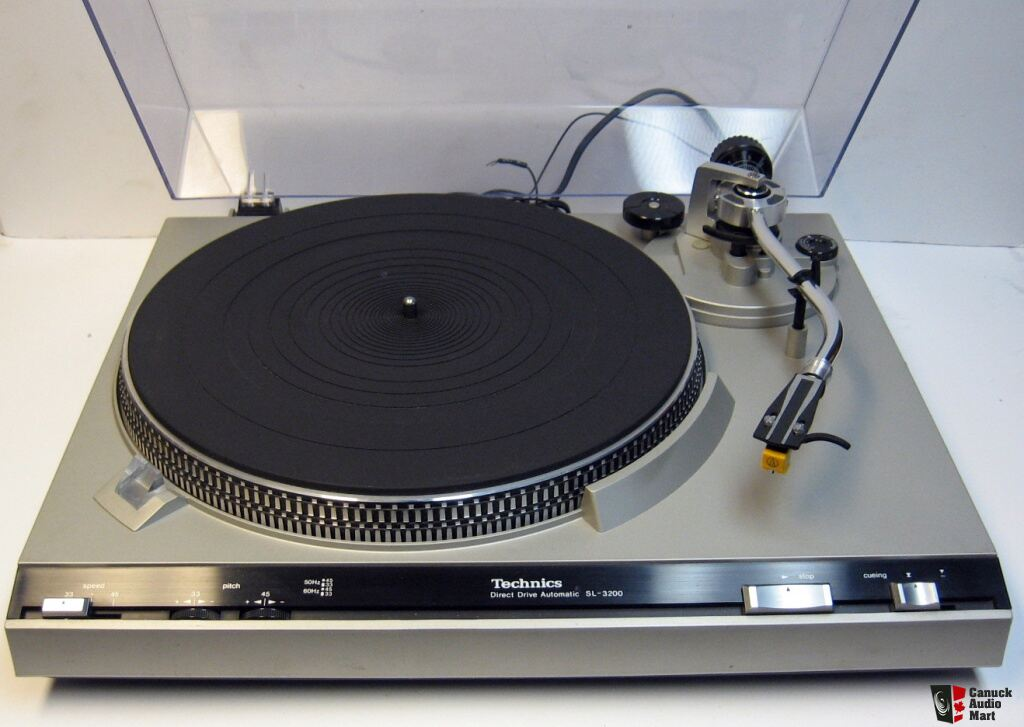 Technics Sl 3200 Direct Drive Turntable Photo 485158