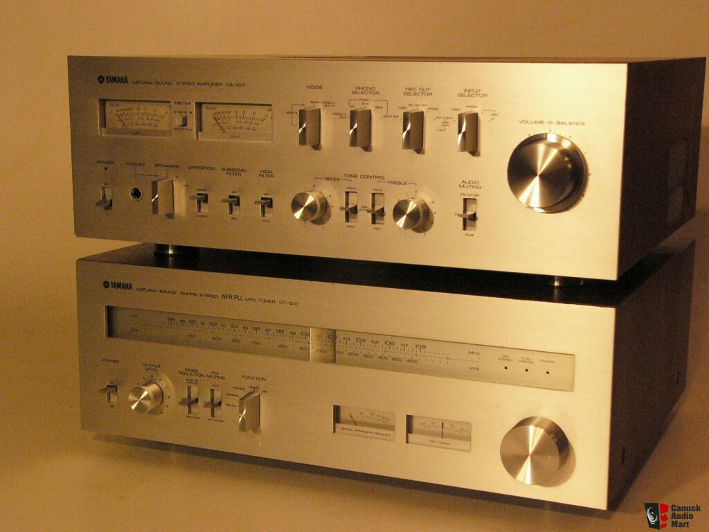 Excellent Yamaha CA-1010 Integrated Amplifier and CT-1010 ...