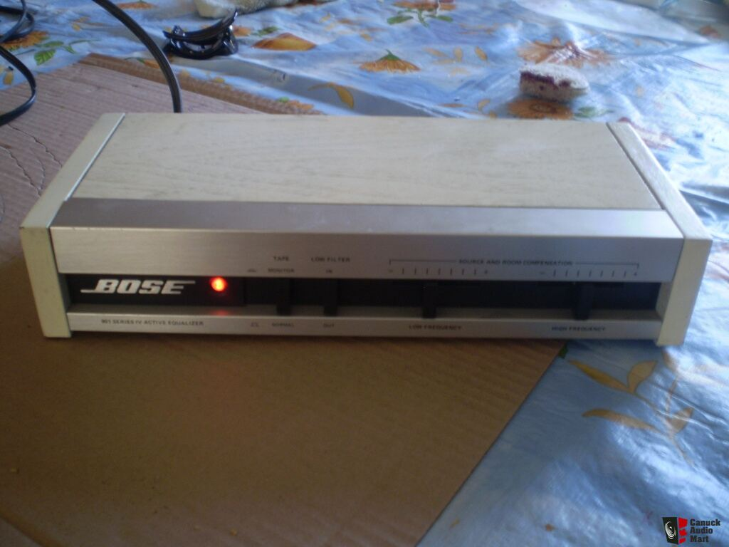 Bose 901 Eq Schematic Wiring Diagrams Diagram Series Vi Active Sold To Nas Photo 489255 Equalizer