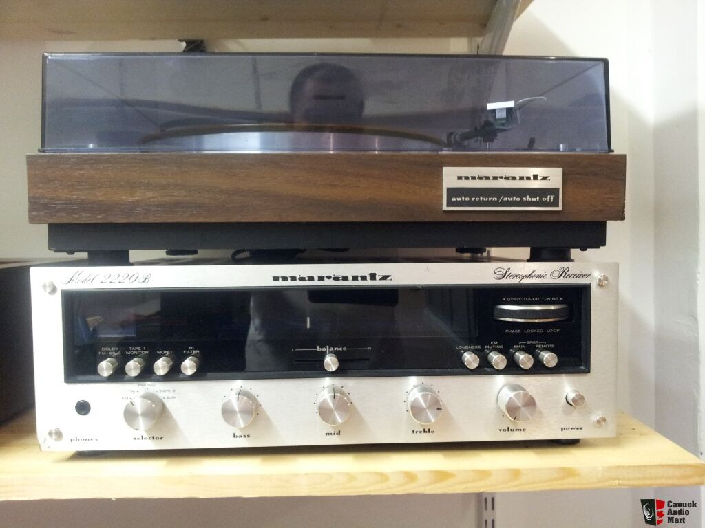 Marantz 2220B Receiver & Marantz 6100 Turtable Photo #495972