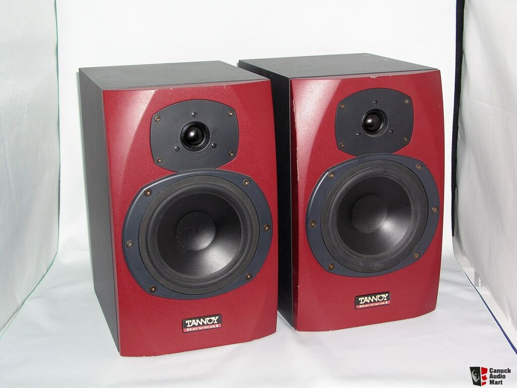 Tannoy Reveal Passive Studio Monitor Speakers Red 145