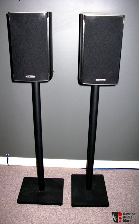 Polk Audio RTi A1 - with ajustable 60'' Stands Photo ...