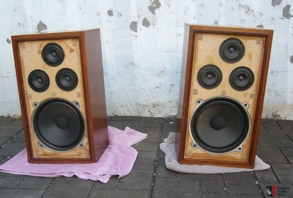 Vintage Realistic Optimus 5 Speakers V Nice High Build