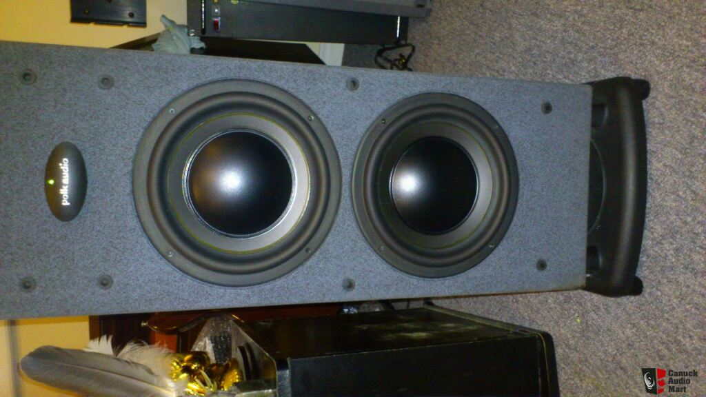 Polk Audio Rt2000p Floorstanding Speakers Photo  506046