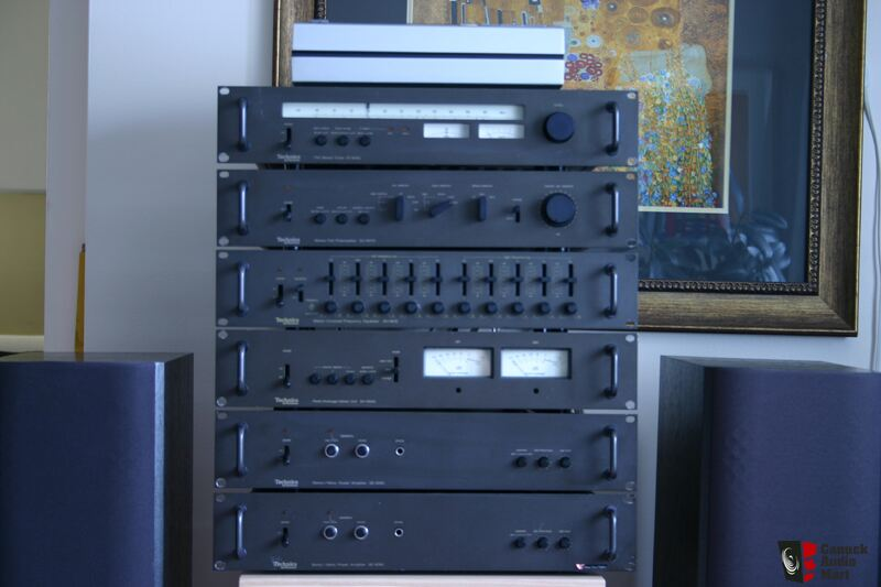 Technics Pro 90xx Series Rack System Sold To G Photo