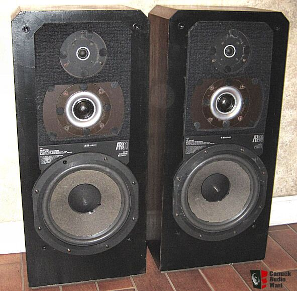 Vintage Teledyne Acoustic Research Ar 91 Speakers