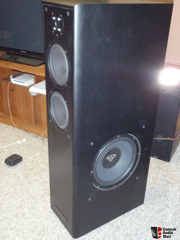 Cerwin Vega Tower Speakers Cerwin Vega Cvt-12 Towers