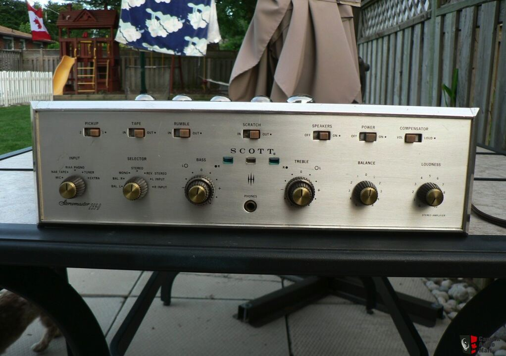 Scott 299D - Fully restored by Scott Experts NOS Valves