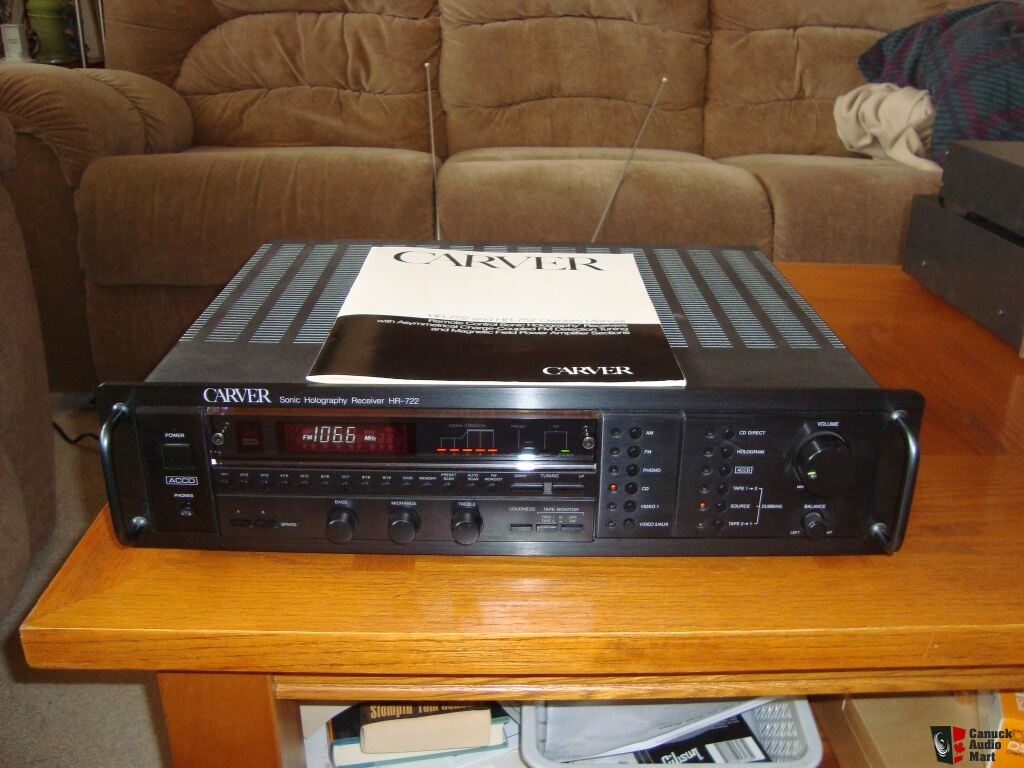 Vintage Carver Receiver Hr 722 In Mint Condition Photo