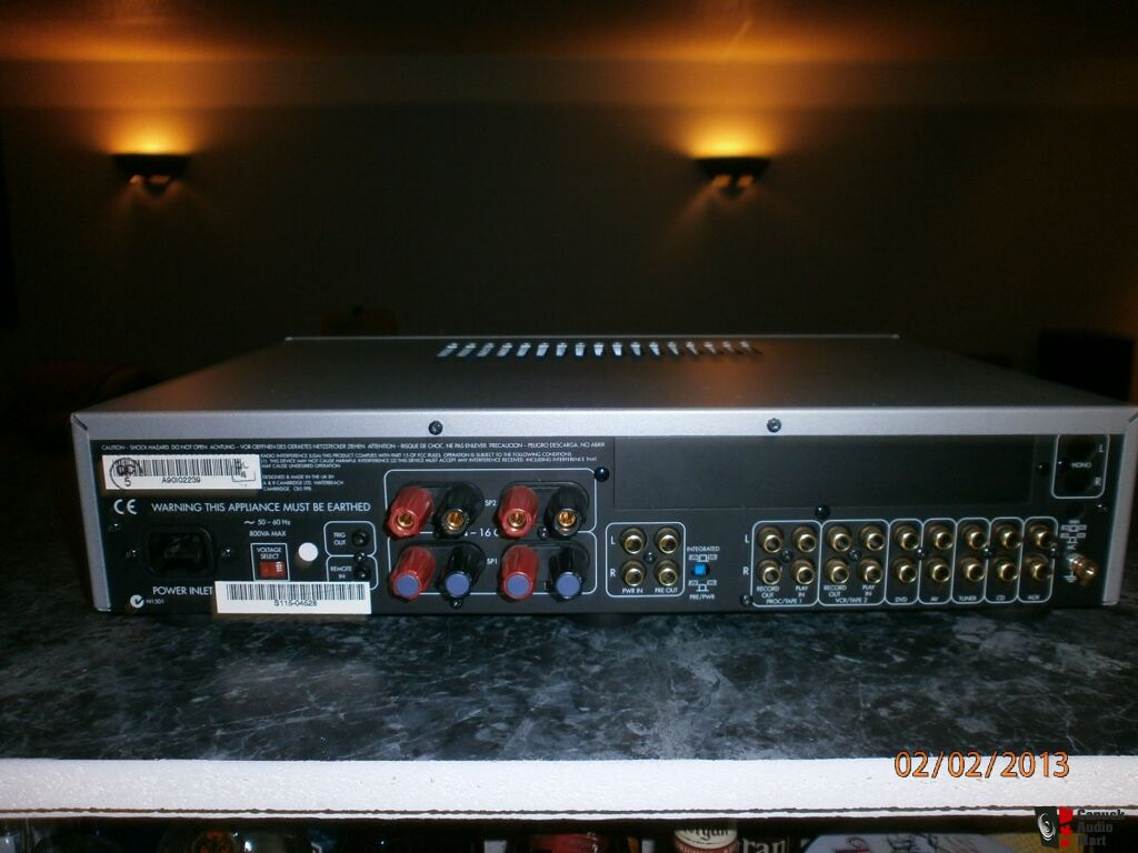 Arcam diva a90 integrated amplifier 9 10 cond with remote - Arcam diva dv139 ...