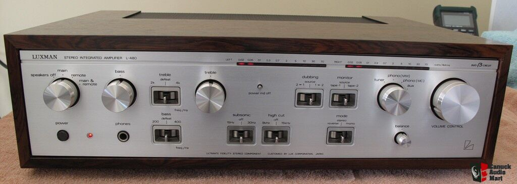 LUXMAN L-480 Int Amplifier, a Vintage beauty