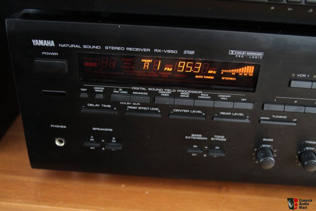 Download free pdf for yamaha rx-v850 receiver manual.