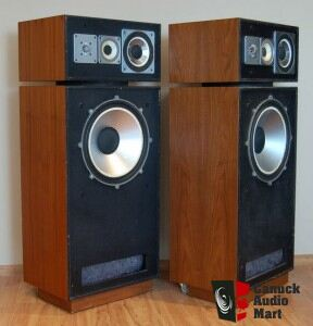 leak 2075 floorstanding speakers 15 inch woofer made in