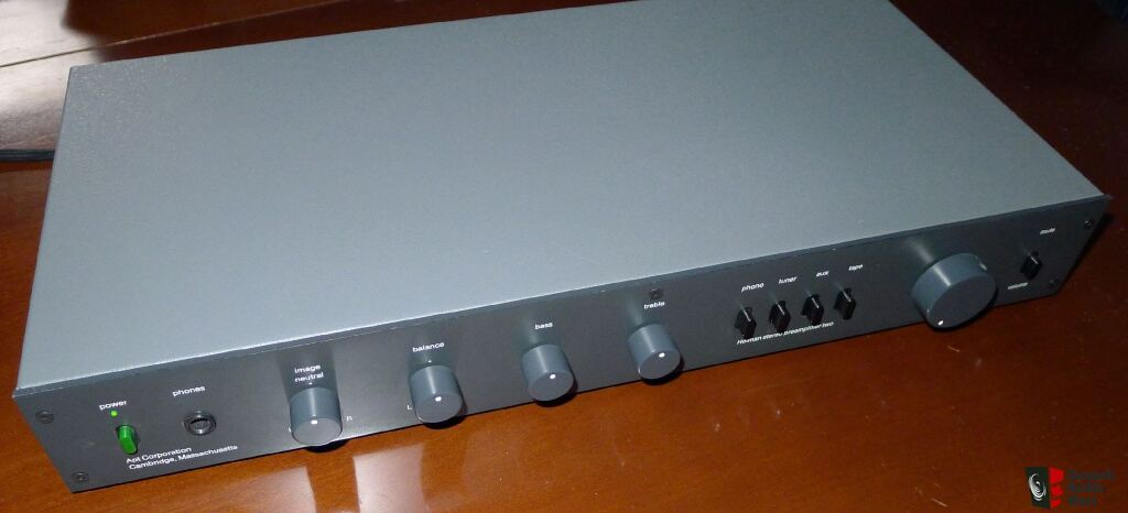 Apt Holman Stereo Preamplifier Two With Mm Mc Phono