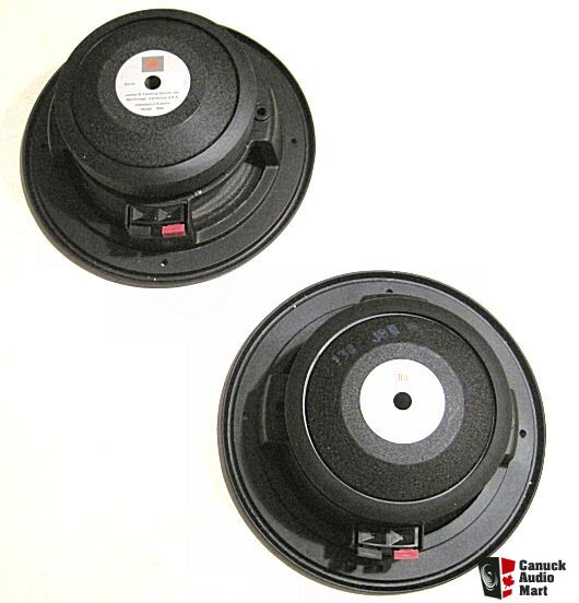 pair new jbl 108h mid range drivers for 250 ti speakers. Black Bedroom Furniture Sets. Home Design Ideas