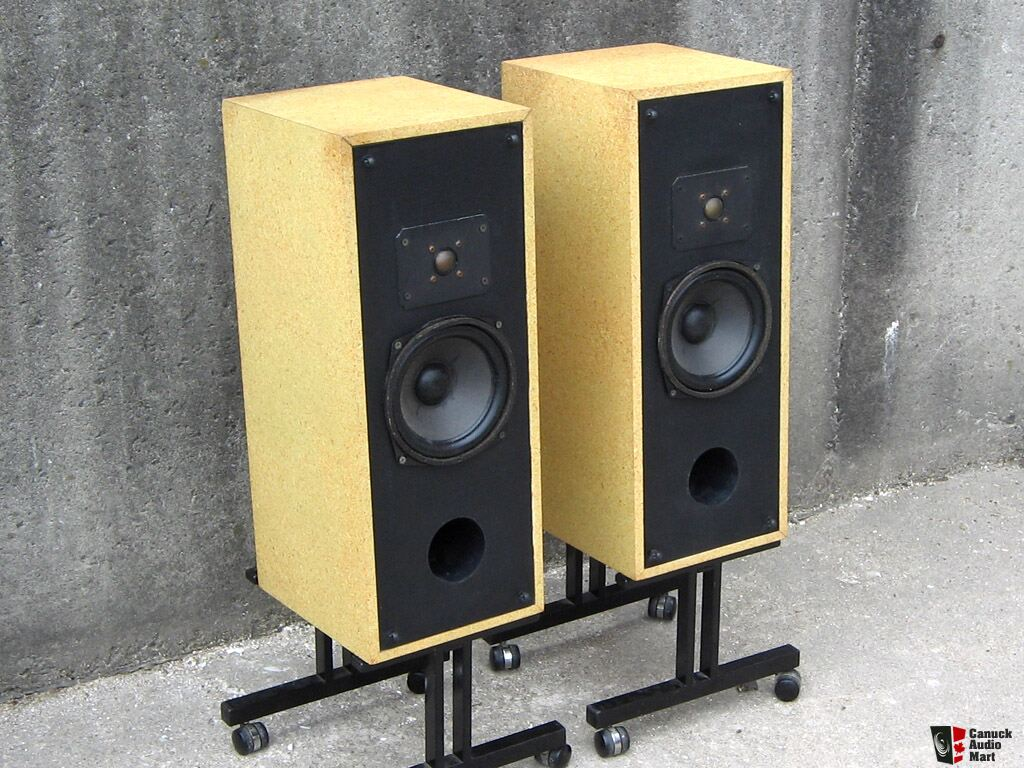 Infamous Canadian Rega 2 Speakers In Cool Utility Cabinets