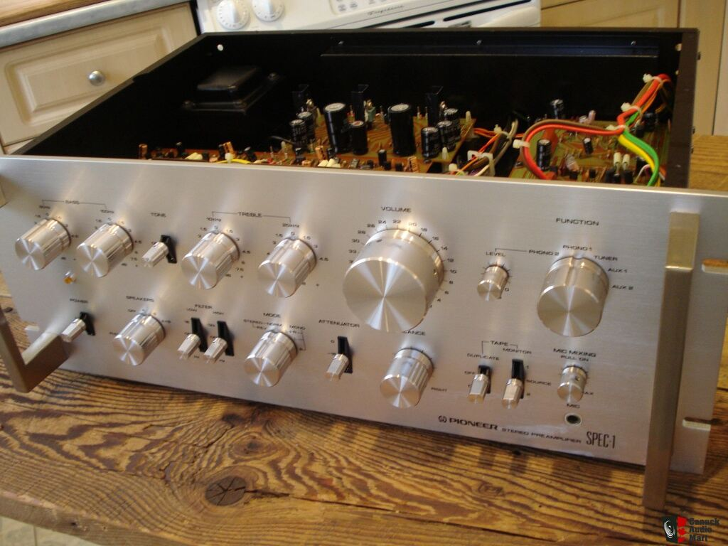 Pioneer spec preamp