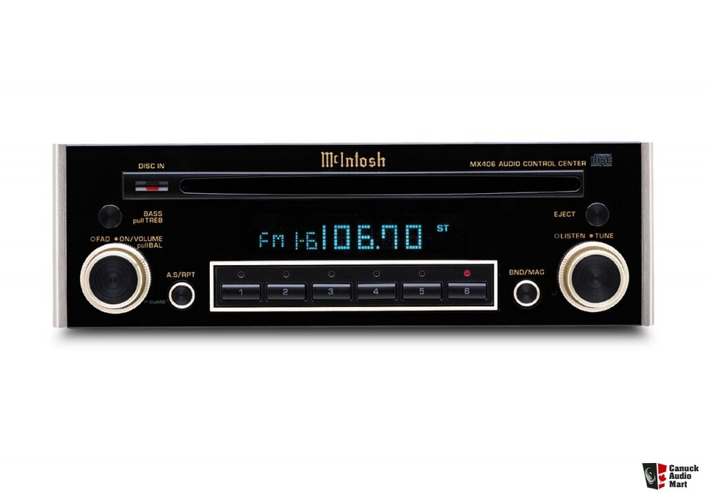 Mcintosh car head unit