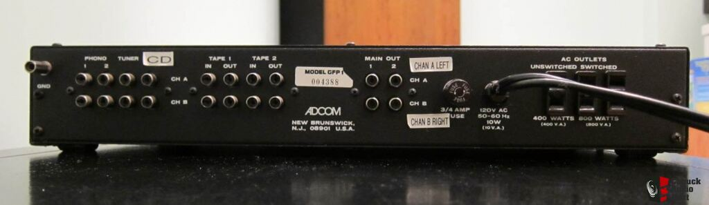 Adcom GFP-1 Preamplifier in Excellent Condition Photo ...