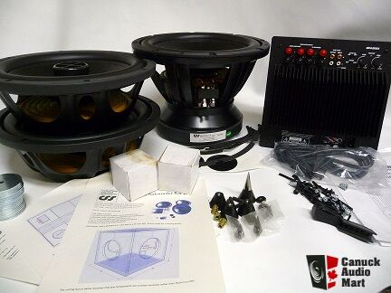 New Combo Price Quartet Sdx12d Subwoofer Kit With Plate