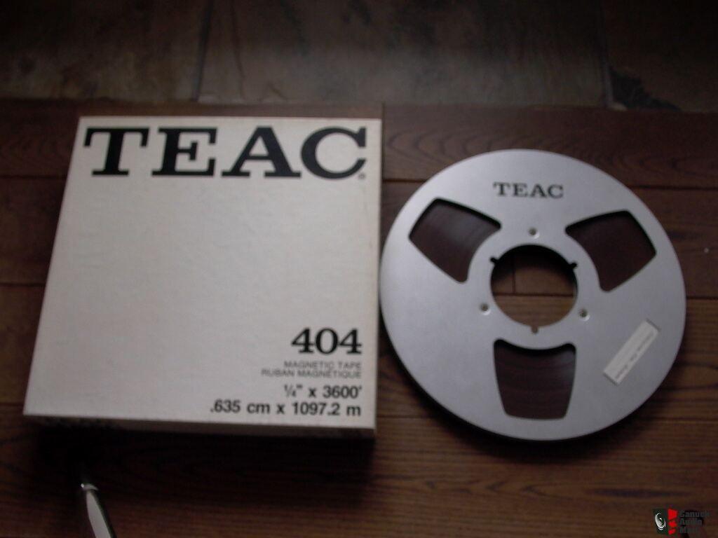 7 reel to reel tape