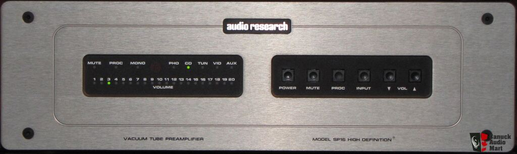Audio Research SP16 Preamp