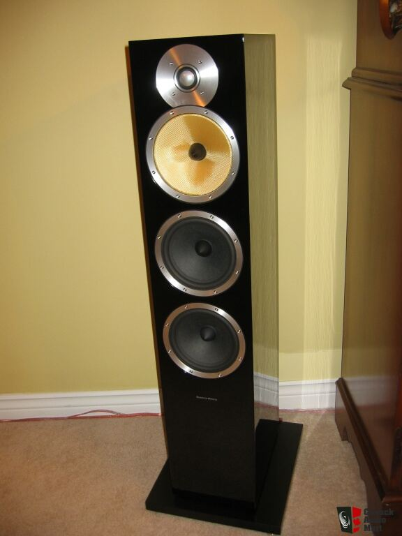 B&W Bowers & Wilkins CM9 speakers on Rotel + Paradigm ...