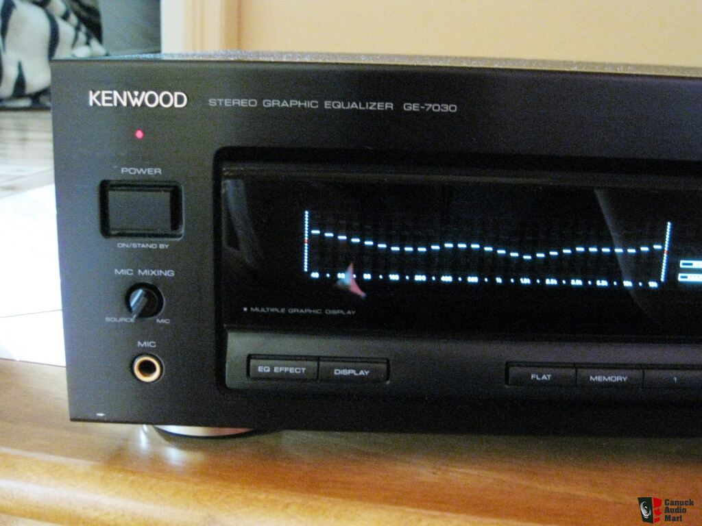 Kenwood Ge 7030 Graphic Equalizer Photo 593284 Aussie