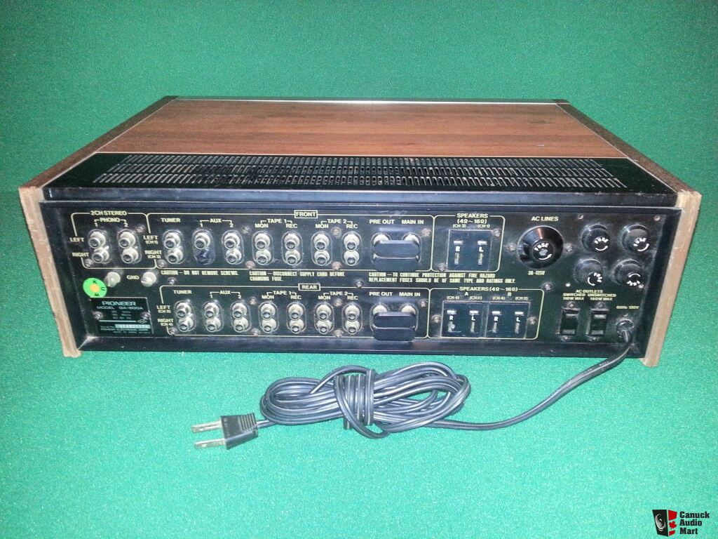 pioneer qa 800a quadraphonic vintage stereo amplifier Surround Sound Amplifier Marantz Quadraphonic Amplifier