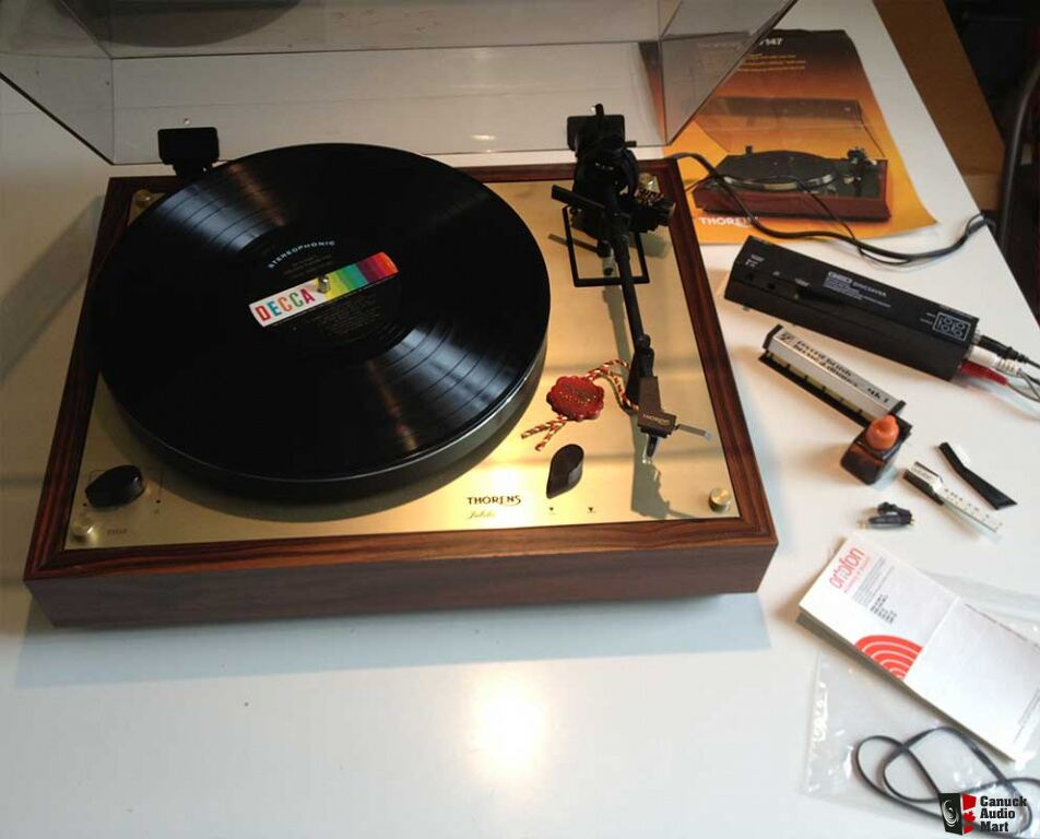 Thorens TD 147 Jubilee, Special Edition (Red Seal) Photo ...
