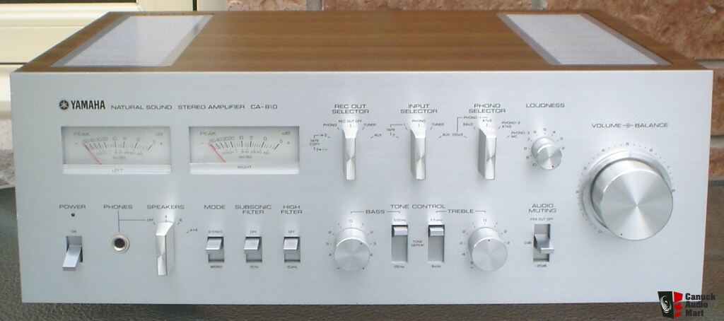 hold yamaha ca 810 integrated amplifier owner s operating and rh usaudiomart com Yamaha CA 810 Amplifier Yamaha Amp 810