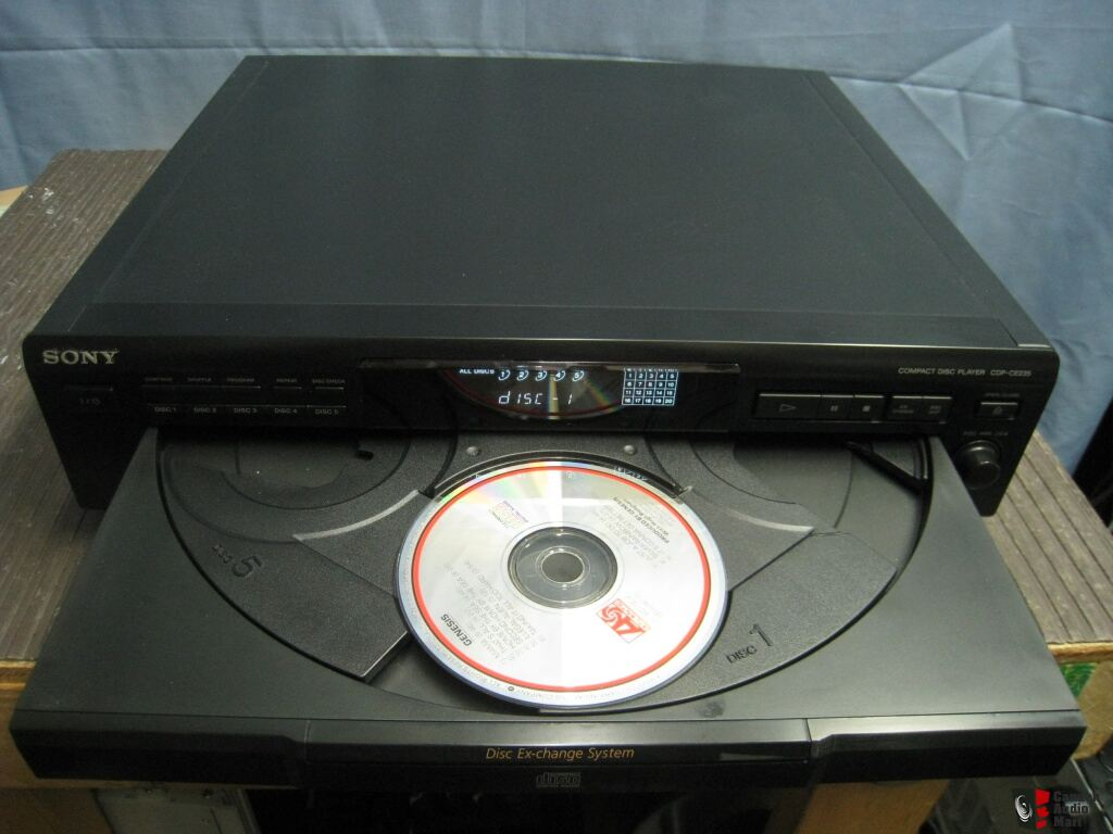 Sony Cd Player 5 Disc Carousel Cdp Ce235 Photo 599432