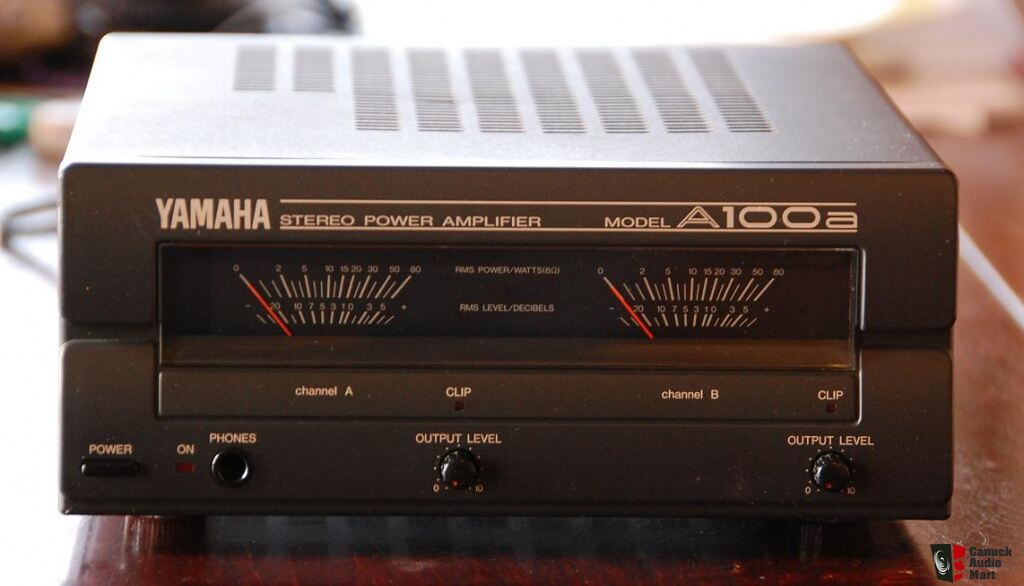 famous yamaha a100a power amplifier for ns 10 and more