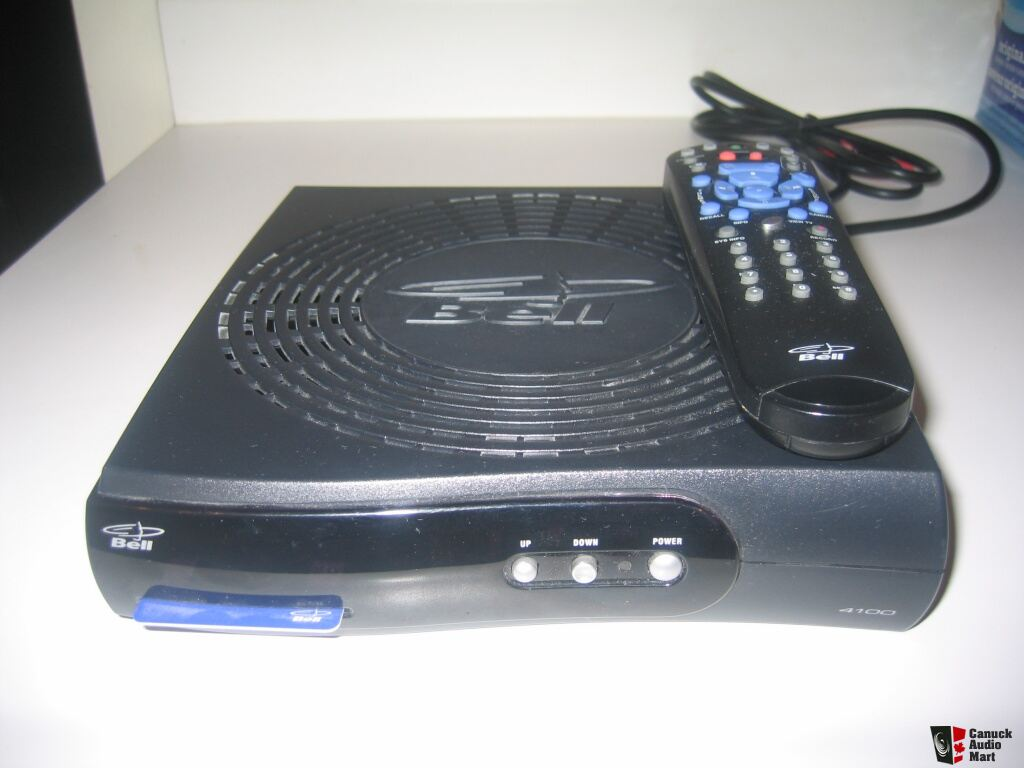 Like New Bell Express Vu 4100 Satellite Receiver With