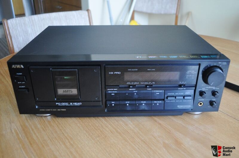 Aiwa Ad F800 3 Head Cassette Deck Sale Pending Photo