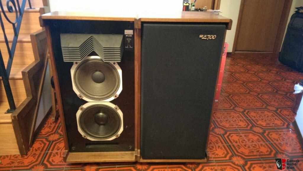 rare vintage sansui sp l700 speakers photo 613028 canuck audio mart. Black Bedroom Furniture Sets. Home Design Ideas