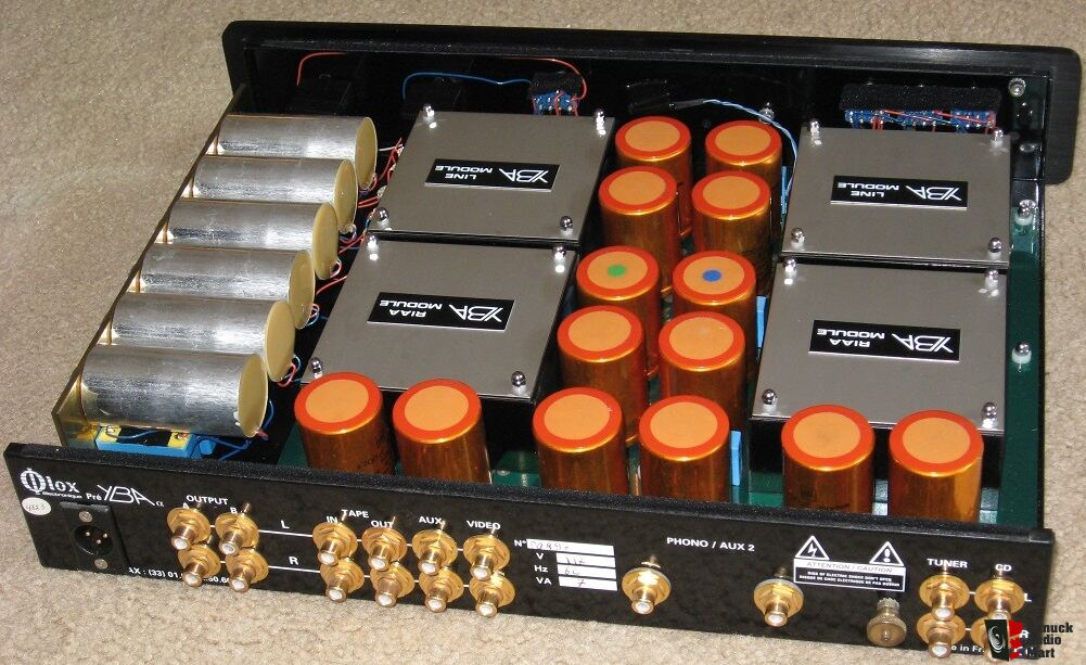 Yba 1 Alpha Preamp With Special Power Supply Excellent