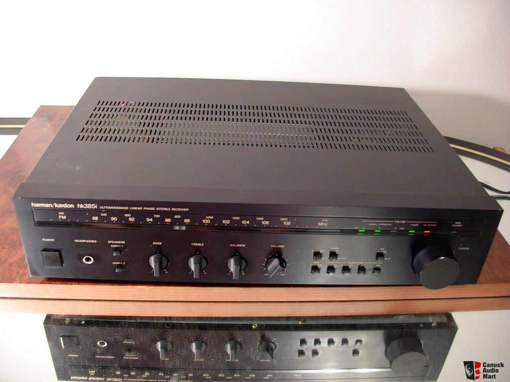 harman kardon hk385i stereo receiver works perfectly. Black Bedroom Furniture Sets. Home Design Ideas