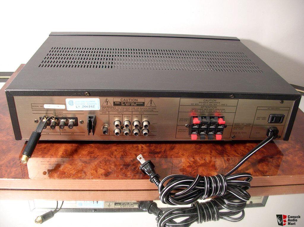 harman kardon hk385i stereo receiver works perfectly. Black Bedroom Furniture Sets. Home Design Ideas