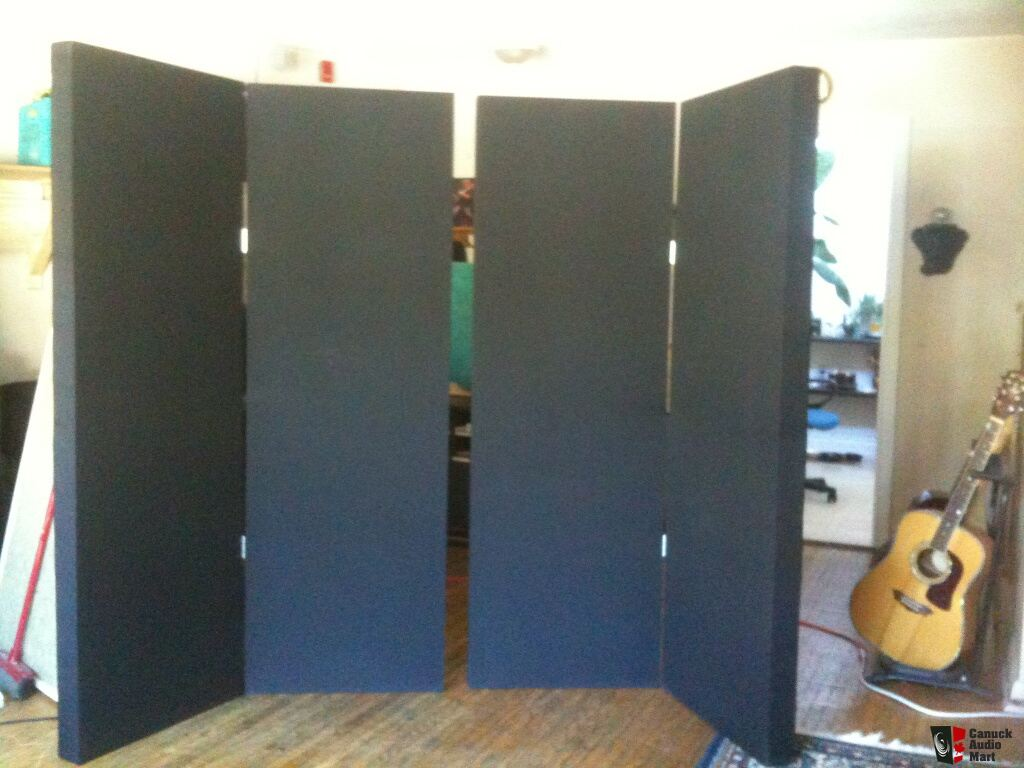 7 Tall Acoustic Panels Make Portable Quot Stonehenge Quot Vocal