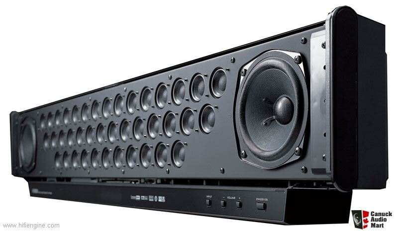 Yamaha ysp 900 soundbar and yamaha yst fsw100 powered for Yamaha soundbar with subwoofer